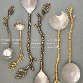 Twig shape spoons and servers - South Africa