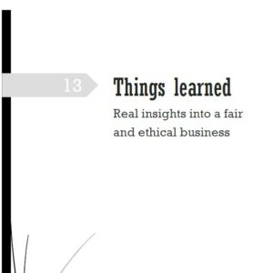 13 Things Learned - entrepreneur resource - Title Page