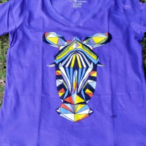 Zebra Women T-shirt - Best - Fashion The Fair Trade Way